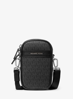 Michael Kors Greyson Logo Smartphone Crossbody Bag