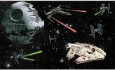 Star Wars Star WarsTM Peel and Stick Mural Wall Art
