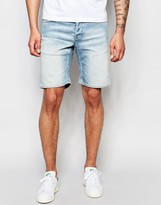 ONLY & SONS Light Wash Denim Shorts