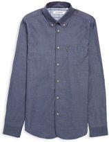 Ben Sherman Twisted Plain Long Sleeve Shirt