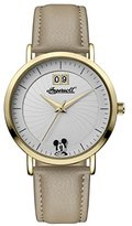 Ingersoll Women's Quartz Stainless Steel and Leather Casual Watch, Color:Beige (Model: ID00503)