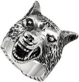 Gucci Wolf Head Ring