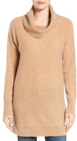 Halogen Cowl Neck Cashmere Tunic (Regular & Petite)