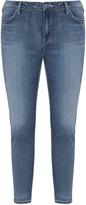 Silver Jeans Plus Size 7/8 length slim fit jeans