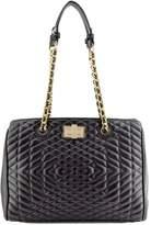 88 Naomi Quilted Chain Satchel