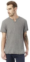 Alternative Men's Heathered Moroccan Henley T-Shirt