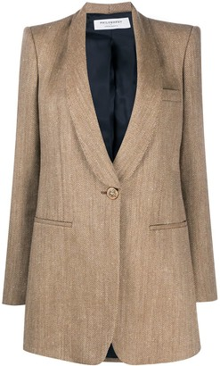 Philosophy di Lorenzo Serafini Fitted Single-Breasted Jacket