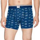 Lucky Brand Men's Printed Stretch Boxer Brief