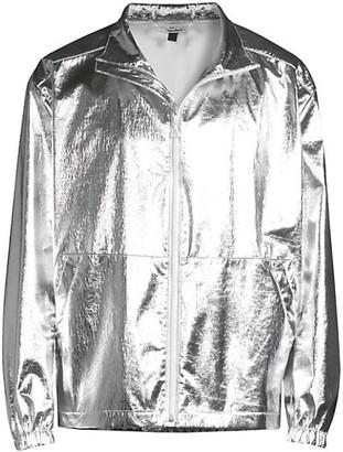 HUGO BOSS Metallic Bomber Jacket