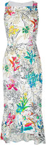 Peter Pilotto sleeveless floral print dress - women - Elastodiene/Polyester/Acetate/Viscose - 8