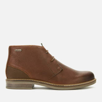 Barbour Men's Readhead Leather Chukka Boots - Dark Brown