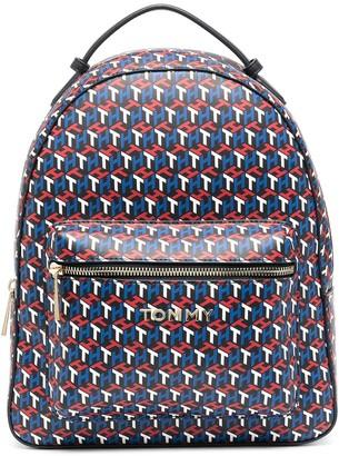 Tommy Hilfiger 3D-logo print backpack