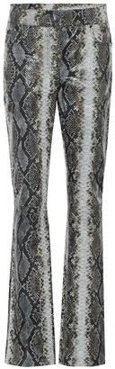 Stand Studio Rina snake-effect leather pants