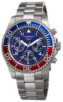 Akribos XXIV Chronograph Stainless Steel Bracelet Watch, 43mm