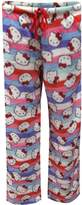 Hello Kitty Cheerful Stripes Fleece Lounge Pants for women