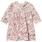 Emile et Rose Pink Floral Long Sleeved Dress