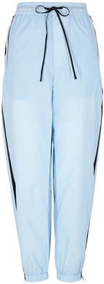 3.1 Phillip Lim Airy Blue Striped Cotton Sweatpants