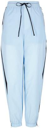 3.1 Phillip Lim Airy blue striped cotton sweatpants