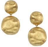 Marco Bicego Africa 18K Gold Two-Drop Earrings