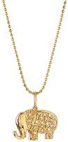 Sydney Evan Jewelry 14k Gold Diamond Elephant Pendant Necklace