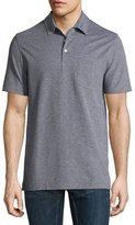 Ralph Lauren Melange Polo Shirt, Coal