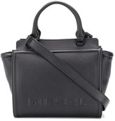 Diesel Leather satchel with embossed logo