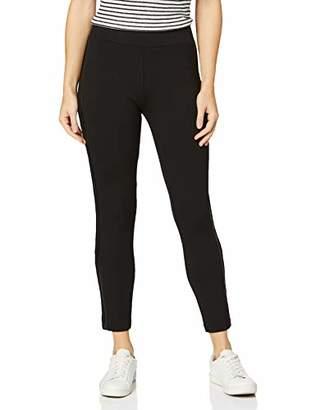 Tom Tailor Casual Women's Treggings Trouser, Black (Deep Black 482), (Size: 40)