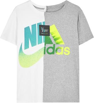 1/Off Paris Nike X Adidas printed T-shirt