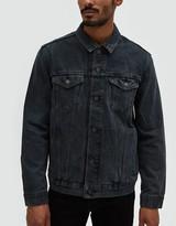 Levi's Grey Over-Dyed Trucker Jacket