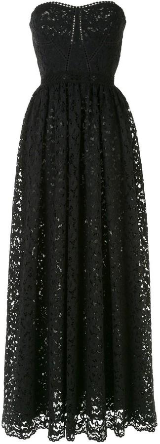 Jonathan Simkhai Broderie Anglaise Strapless Dress