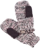 Peppercorn Kids Marled Mittens - Pink-L/XL (6-12 Years)