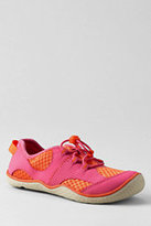 Lands' End Youth Wide Oxford Water Shoes-Cosmos Pink