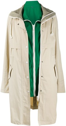 Army by Yves Salomon Double Garment Trench Coat