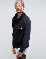 Asos Oversized Longline Hoodie With Textured Panels