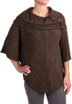 Nomadic Traders Apropos Postcards Sloan Poncho - Short Sleeve (For Women)