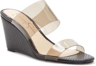 Jessica Simpson Cilvey Wedge Slide Sandal