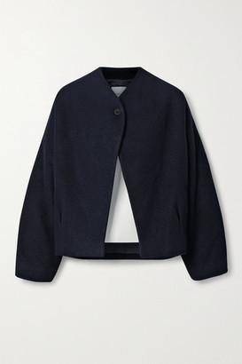 LE 17 SEPTEMBRE Wool And Cashmere-blend Boucle Jacket - Blue