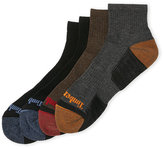 Timberland 4-Pack Outdoor Leisure Low Quarter Socks