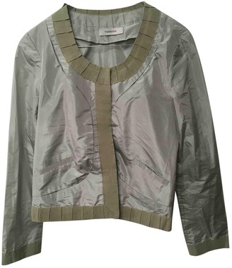 Thakoon Green Silk Jackets