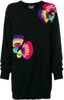 Moschino applique jumper dress - women - Cashmere/Virgin Wool - M