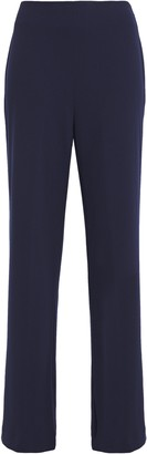 DKNY Stretch-crepe Wide-leg Pants