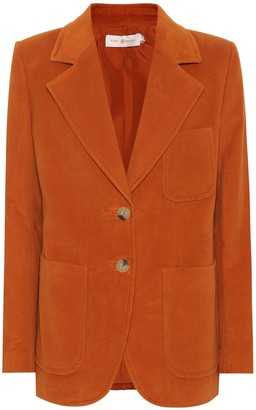 Tory Burch Khloe cotton blazer