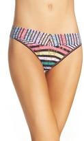Hanky Panky Women's Chalk Stripe Original Rise Thong