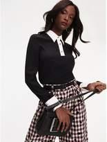 Tommy Hilfiger Zendaya Contrast Collar Blouse