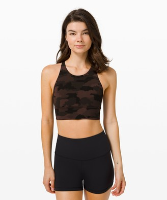 Lululemon Free To Be Bra Wild High Neck Long Line *Light Support, A/B Cup Online Only