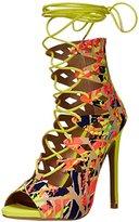 Qupid Women's GLEE-215 Gladiator Sandal