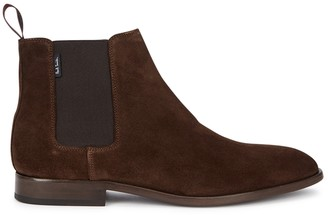Paul Smith Gerald brown suede Chelsea boots