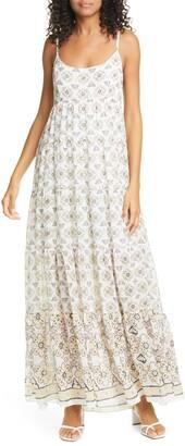 A.L.C. Marian Sleeveless Print Dress