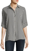 Vince Camuto Demure Striped Dolman Shirt