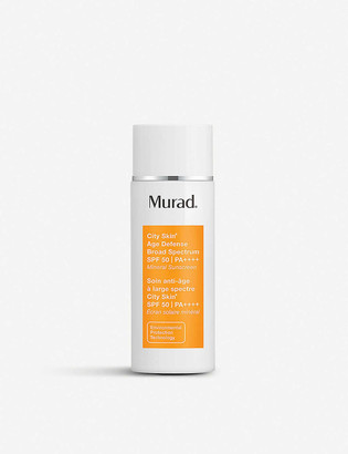 Murad City Skin Broad Spectrum SPF 50 mineral sunscreen 50ml